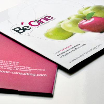 Be one Consulting / Branding et site web